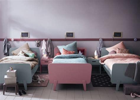 efficent solutions  decorating triplet bedroom