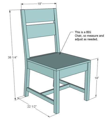 Ana White Classic Chairs Made Simple Diy Projects How To Build Dining Room Chairs