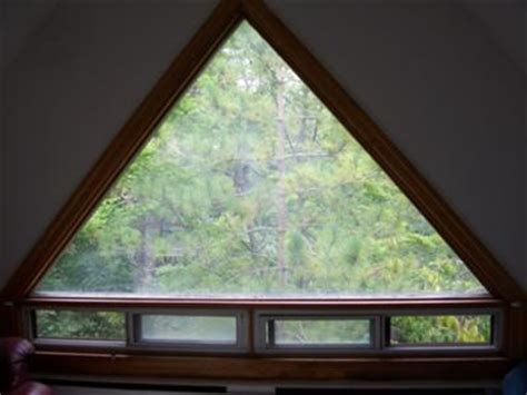 triangle window coverings impossible triangle windows