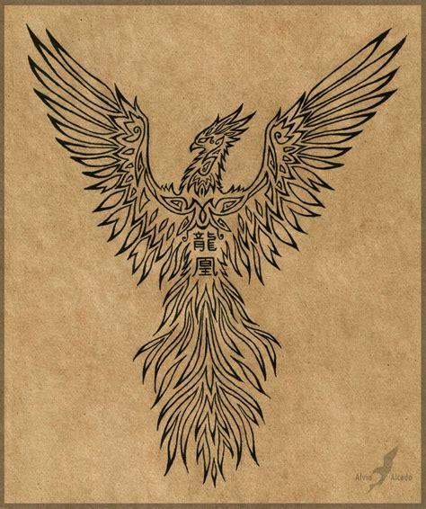 rising phoenix tattoos rising design by alviaalcedo deviantart
