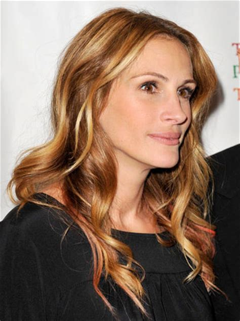 julia roberts red hair with highlights extream fashion julia roberts hair