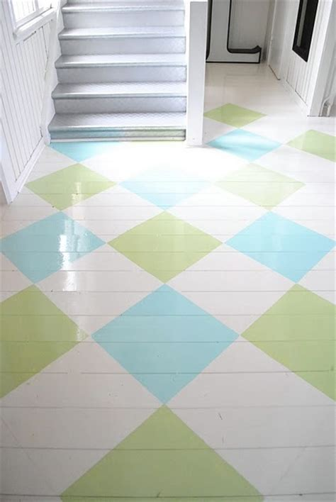 painted wood floor blue and green floors aqua and limes