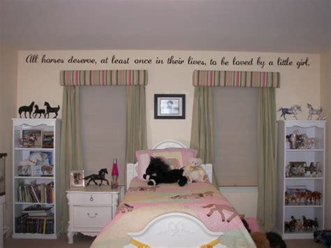 All horses deserve quote in a darling girls room