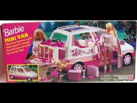 barbie cars from the 90s barbie collection of the 90s part deux youtube