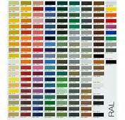 Ral Colour Chart  F H Brundle
