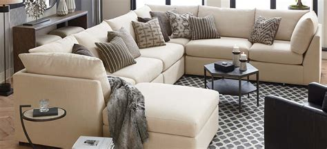 horseshoe shaped couch see all of beckham s sectional sofa options bassett