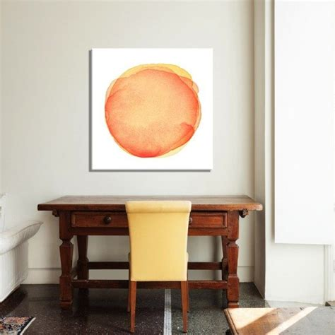 orange dot painting horizon home furniture