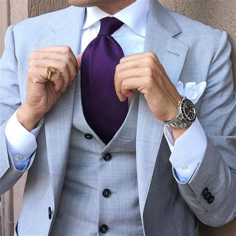 1000  ideas about Purple Suits on Pinterest   Man suit
