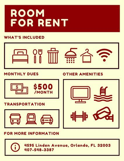 for rent flyers templates room for rent flyer templates by canva
