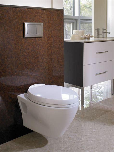 Toto Aquia wall hunging toilet   Modern   Toilets
