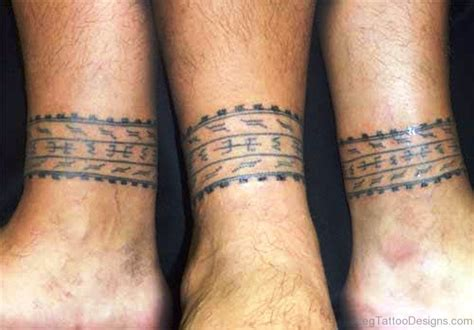 leg band tattoo designs 53 classic band tattoos on leg