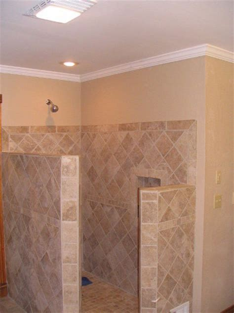 replace bathroom tile replacing fiberglass shower with ceramic tile by ick