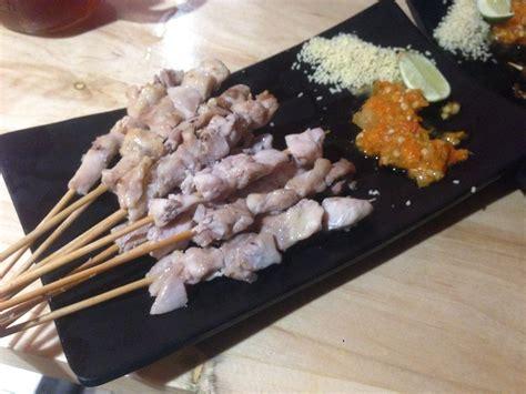 sate taichan goreng gading serpong tangerang lengkap