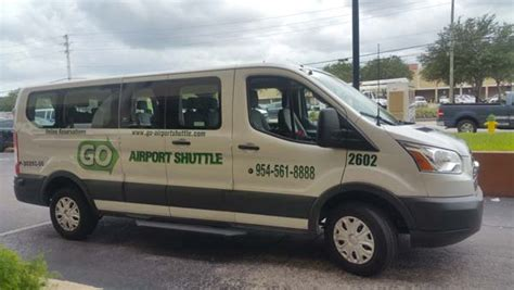 airport shuttle companies fort lauderdale airport shuttle and car service