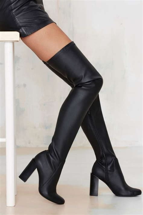 jeffrey cbell thigh high boots jeffrey cbell perouze thigh high boot