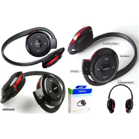Headset Stereo Earphones For Nokia nokia bh 503 bluetooth stereo headset