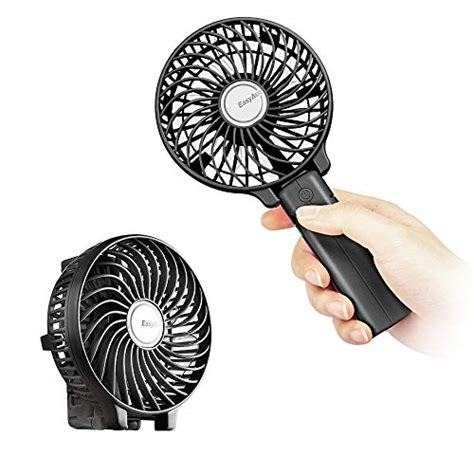battery powered handheld fan mini handheld fan portable cooling travel battery