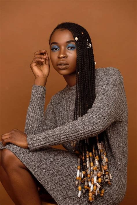 women braids with beads editorial quot beads and braids quot inspired by ghanaian women