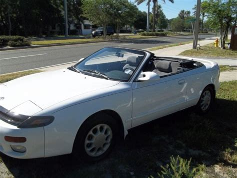 1992 toyota celica gt convertible low miles classic toyota celica 1992 for sale
