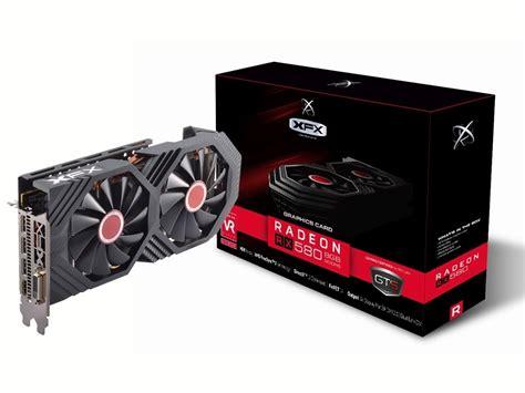 Komputer Xfx Radeon Rx 580 4gb Ddr5 Gts Oc Dual Fan xfx radeon rx 580 gts edition rx 580p8dfd6 8gb gddr5