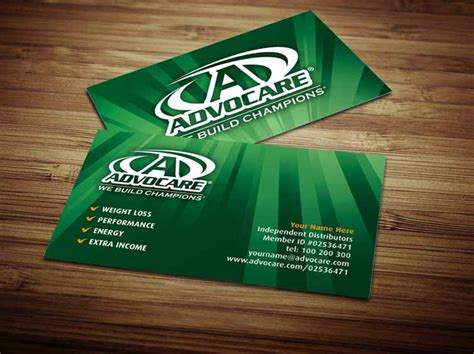 free advocare business card template advocare business cards by tankprints on deviantart