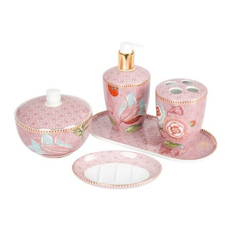 spring bathroom fittings buy pip studio spring to life bathroom tray pink amara