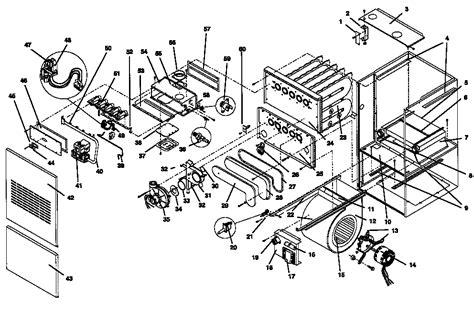 comfort maker parts tempstar furnace parts diagram wiring diagram 2018