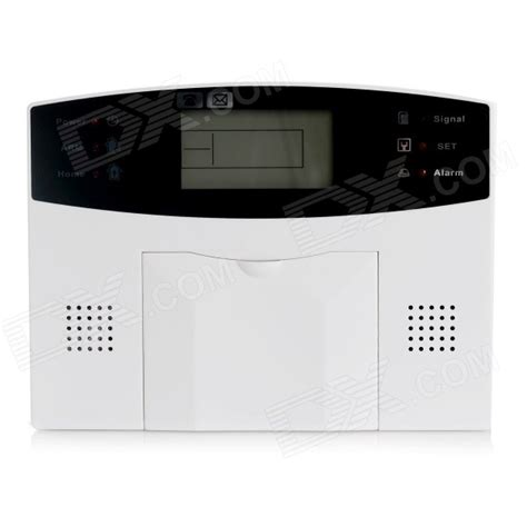 Best Deal Alarm Lcd Wireles Wired Berbasis Gsm Untuk Keamanan Rumah gsm wireless smart security alarm system set white