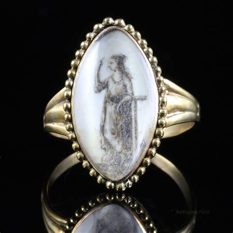 antiques atlas antique georgian sepia ring figure
