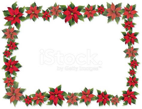poinsettia frame stock photos freeimages com
