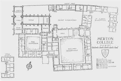 Online Floorplan merton college british history online