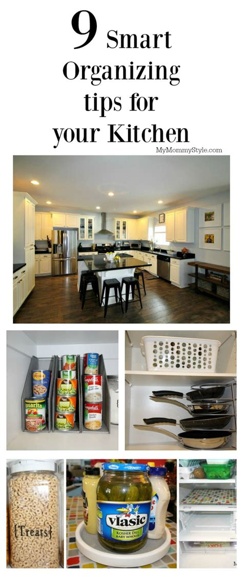 tips for organizing 9 smart ways to organize your kitchen my mommy style