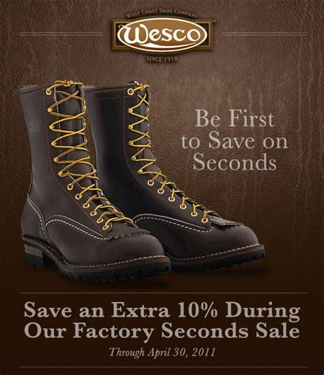factory seconds sale 10 factory seconds