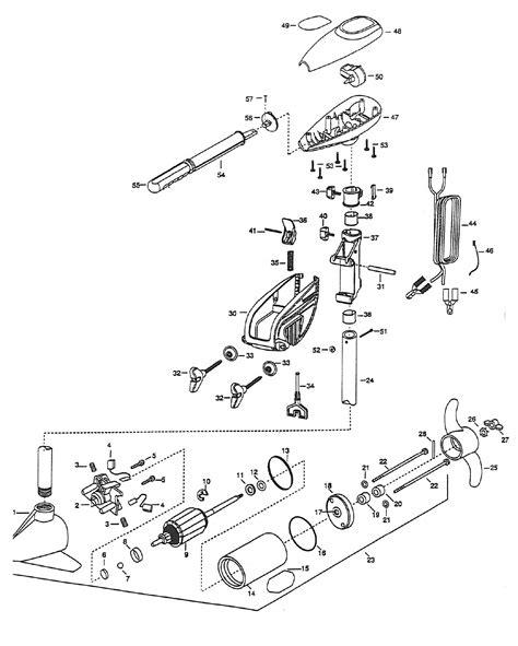minn kota trolling motor wiring diagram the wiring