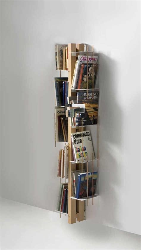librerie a parete in legno zia libreria da parete in legno naturale 155 cm