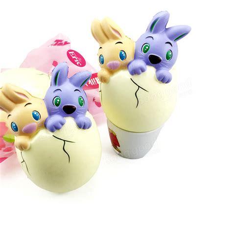 Special Squishy Bunny Rising Tinggi 15cm eric squishy rabbit bunny egg 15cm rising original packaging collection gift decor