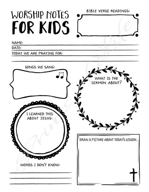 Childrens Worship Service Outline by This Is An Instant File For Our Worship Notes For A Wonderful Tool To Engage