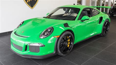 porsche viper green vs signal green 2016 quot signal green quot porsche 911 gt3 rs youtube