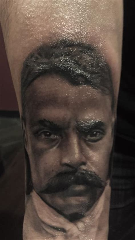 zapata tattoo emiliano zapata by daniel rodriguez tattoonow