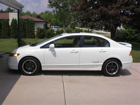 2007 Honda Civic Ex by Honda Civic 2007 White