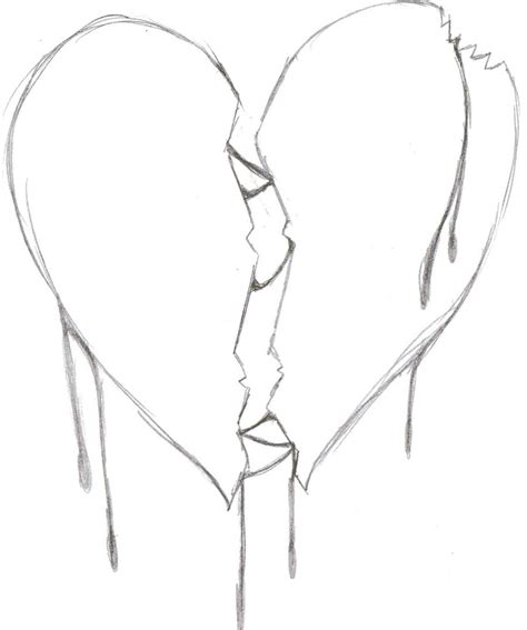 broken heart coloring page broken heart girl coloring pages