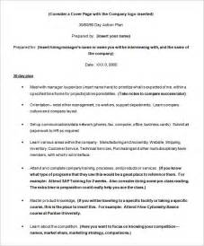 Technical Support Plan Template by Plan Template 110 Free Word Excel Pdf