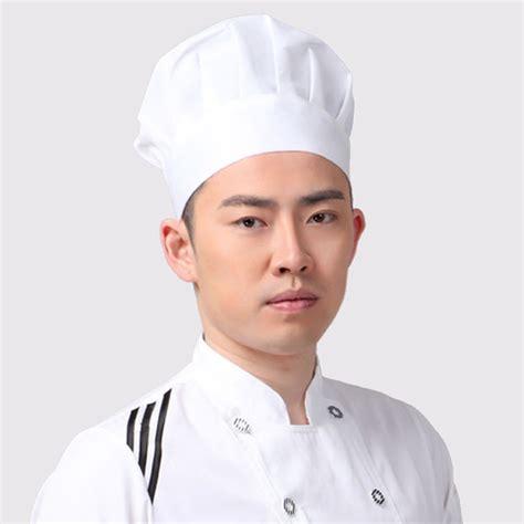 cook hat popular elastic white chef hat baker bbq kitchen cooking