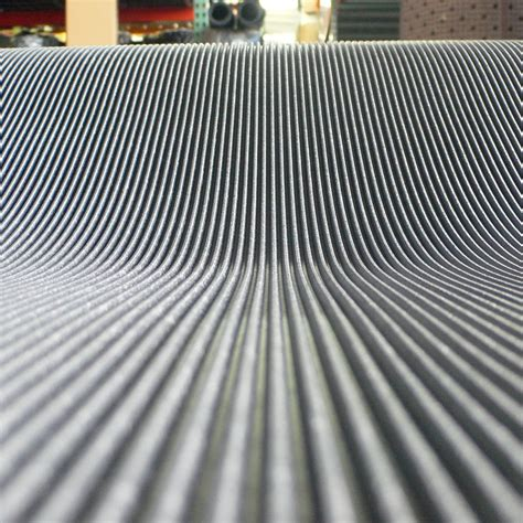 Ribbed Rubber Mat by Ribbed Rubber Matting With Flexibility And Grip