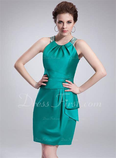 vestidos verde jade para gorditas vestido tubo escote redondo corto mini sat 233 n baile de