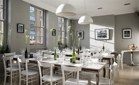luxury private dining rooms   modern pantry
