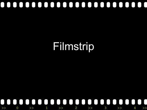 Filmstrip With Countdown Powerpoint Template Clipart Filmstrip Countdown