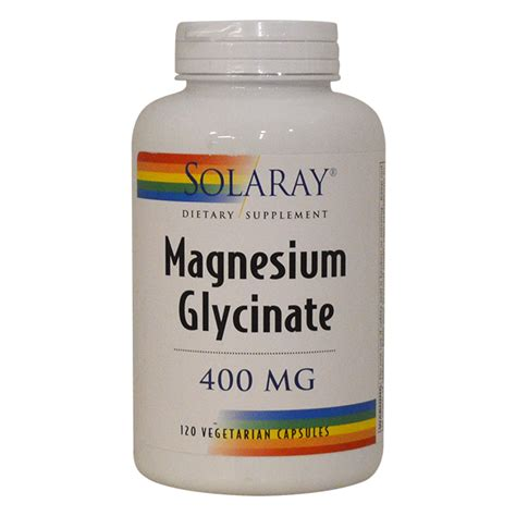 Magnesium Glycinate As A Detox by Solaray Magnesium Glycinate 120 Vcaps