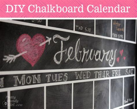 chalkboard diy calendar diy chalkboard calendar pretty handy