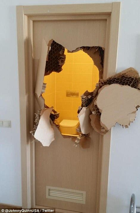how to break into a bedroom door johnny quinn forced to break down door after it jams in latest sochi fail daily mail
